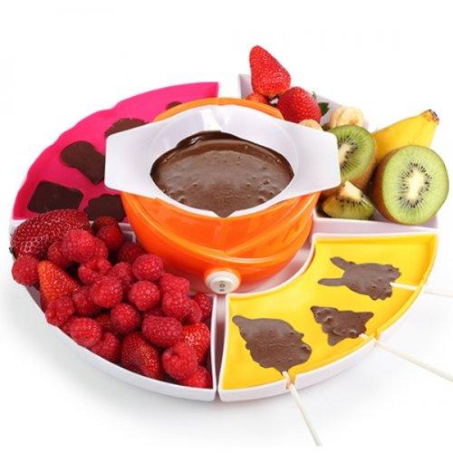 Chocolat Set à Fondue Chocolat Lolly Fruits Chocolat fondue fondue au chocolat