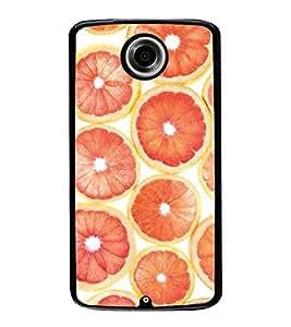Oranges 2D Hard Polycarbonate Designer Back Case Cover for Motorola Nexus 6 :: Motorola Nexus X :: Motorola Moto X Pro :: Motorola Google Nexus 6