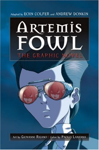 Cover of Artemis Fowl: The Graphic Novel (Artemis Fowl (Graphic Novels))