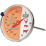 Oh My Grill Leave-In Meat Dial Thermometer