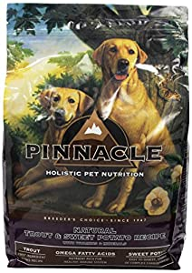 Pinnacle Trout and Sweet Potato Formula Dog Food, 7.5-Pound