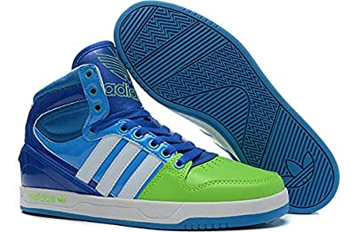 Adidas Court Attitude Mens G99390 (Size 10) Ray Green/Run White/Pride Ink