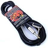 Guitar Lead/Cable:10ft / 3m Electric/Electro-Acoustic/Bass/Instrument + Lifetime Warranty