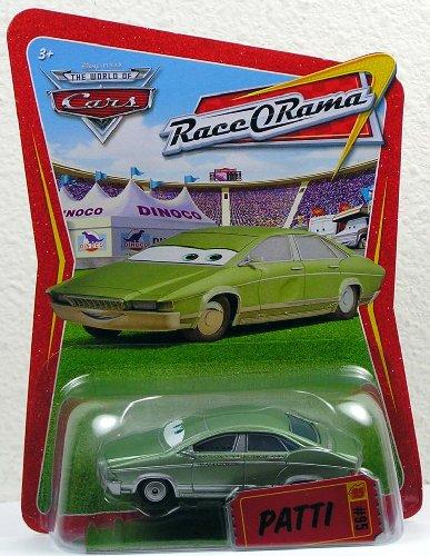 Disney / Pixar CARS Movie 1:55 Die Cast Car Series 4 Race-O-Rama Patti