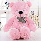 MaoGoLan Giant Teddy Bear Big Plush Stuffed Animals for Girls Children Girlfriend Valentine's Day 47 Inch (Pink) (Color: Pink)