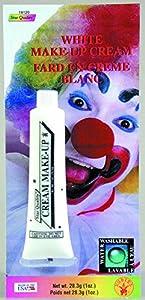 1oz Tube White Cream Makeup