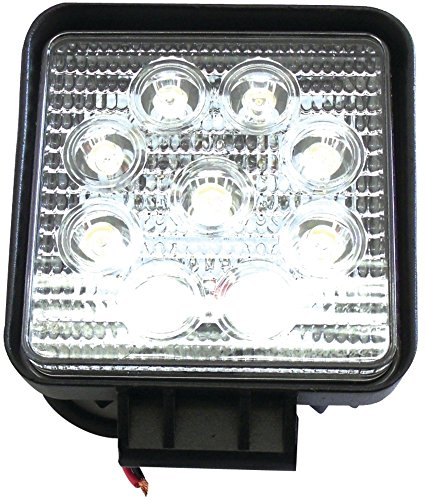 """4"""" Square High-Power 27-Watt/1,755 Lumens Led *** Product Description: 4"""" Square High-Power 27-Watt/1,755 Lumens Ledthis 4'' Square 27-Watt Led Is Made And Developed For Extreme Off-Road Use. The Aircraft-Grade Aluminum Casing Is Waterproof And D ***"""