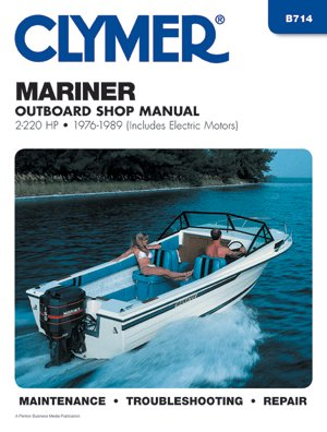 Clymer Mariner 2-220 Hp Outboards (Including Electric Motors) 1976-1989