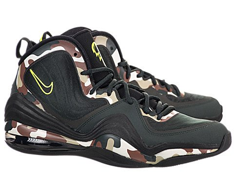 Nike Men's Air Penny V Camo Basketball Shoe