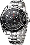 Casio EF-550RBSP-1AVDR Men's Black Dial Stainless Steel Strap Edifice Red Bull Racing Limited Edition Watch