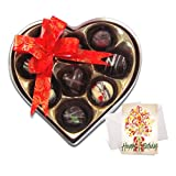 Fine Exclusive Chocolates Gift Box With Birthday Card - Chocholik Belgium Chocolates