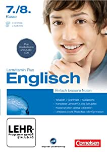 Lernvitamin Plus - Englisch 7./8. Klasse