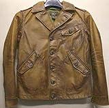 (ダブルアールエル) RRL「Jopling Leather Jacket」 レザー ジャケット イタリア産 カーフスキン 使用 S M 並行輸入品