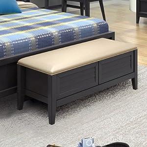 Amazon Com Steps Wood Storage Bedroom Bench Dining Bench
