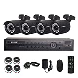 KAREye 8CH 1080P Security Camera System Outdoor Indoor Home Video Day Night IR-CUT CCTV Surveillance System IP66 Waterproof Cameras,NO HDD
