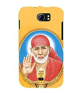 printtech Lord God Saibaba Sainath Back Case Cover for Micromax Canvas 2 A110 / Micromax Canvas 2 Plus A110Q