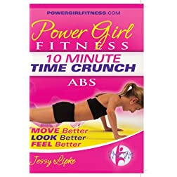 Power Girl Fitness - Time Crunch - 10 Minute ABS Workout DVD