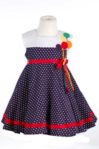 Navy party dress girls in Baby & Kids' Dresses / Skirts - Compare