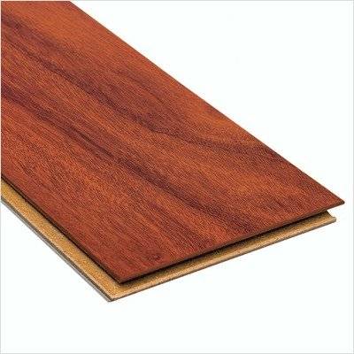 High Gloss 10mm Click Lock Santos Mahogany Laminate With