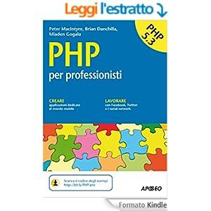 PHP: per professionisti (Guida completa)