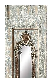 Deco 79 97234 Wood Wall Mirror, 19\