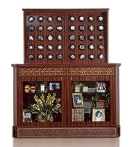 Orbita Bergamo 40 Watch Winder With Glass Doors In Rosewood