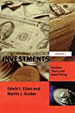 img - for Investments - Vol. I: Portfolio Theory and Asset Pricing (MIT Press) book / textbook / text book