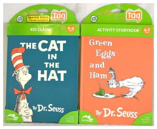 Visit LeapFrog Bundle Tag Book 2-Pack - Green Eggs and Cat in The Hat Details