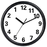 New Haven Black Reverse Clock