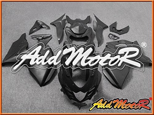 Addmotor ストリート バイク スズキ 外装キット SUZUKI GSXR1000 GSX-R1000 GSXR 1000 K9 2009 2010 2011 2012 2013 09-13 用 マック ブラック S1929