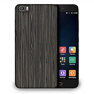 Snoogg black wooden texture Designer Protective Back Case Cover For Samsung Galaxy J1