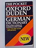 img - for The Pocket Oxford-Duden German Dictionary book / textbook / text book