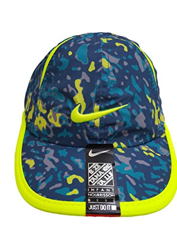 Nike Kids Hat, Dri-FIT Adjustable Cap (12/24 Months, Squadron Blue) (Children Baseball Cap compare prices)