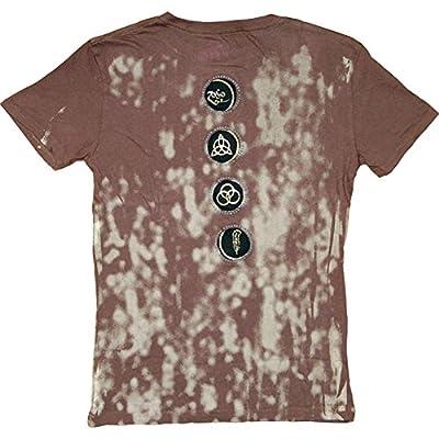 Led Zeppelin Men's Vintage T-shirt Brown