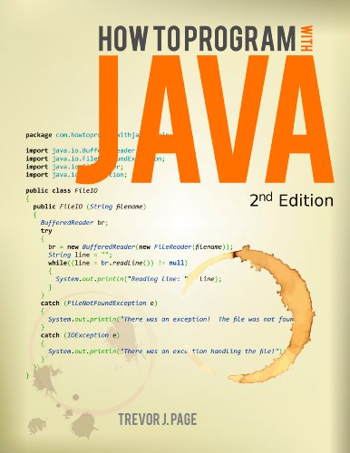 How to Program with Java, by Trevor Page