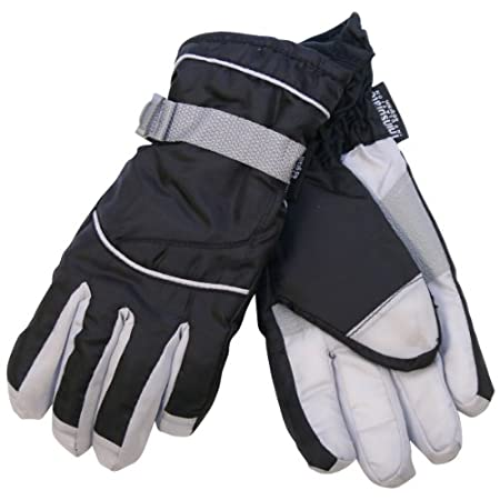 Women's 40 gram thinsulate waterproof ski gloves.