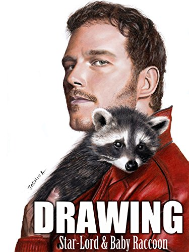 Clip: Drawing Star-Lord & Baby raccoon