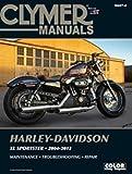 Harley Davidson Sportster 883 XL883C XL883L XL883N 883R 1200 Forty Eight XL1200C XL1200L XL1200N XL1200R 2004-2013 Clymer Manual