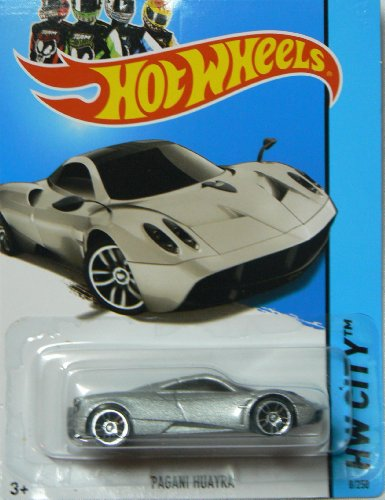 Hot Wheels 2013 Hw City Street Power Silver Pagani Huayra 8/250 - 1