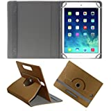 Acm Designer Rotating 360° Leather Flip Case For Apple Ipad Mini 2 Tablet Stand Premium Cover Golden