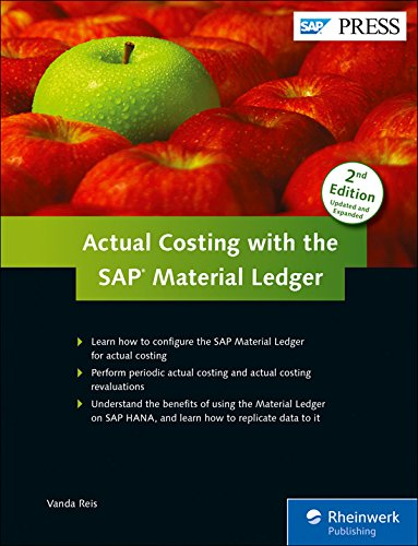 Actual Costing with the SAP Material Ledger: Learn how to configure the SAP Material Ledger for actual costing - Perform periodic actual costing an ... HANA, and learn how to replicate data to it
