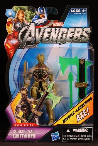 Marvel The Avengers Movie Series Chitauri 3.75 Action Figure