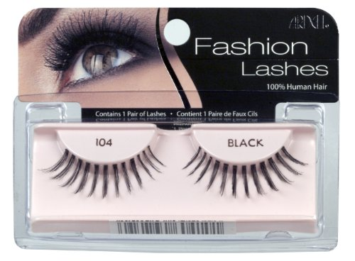 Ardell Fashion Lashes Pair – 104 Black (Pack of 4)