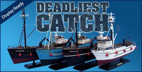 Deadliest Catch Boats Models Assembled
