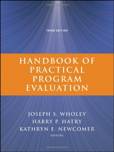 Handbook of Practical Program Evaluation (Essential Texts...