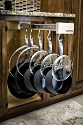 Glideware Pull-out Cabinet Organizer for Pots and Pans by Glideware, LLC