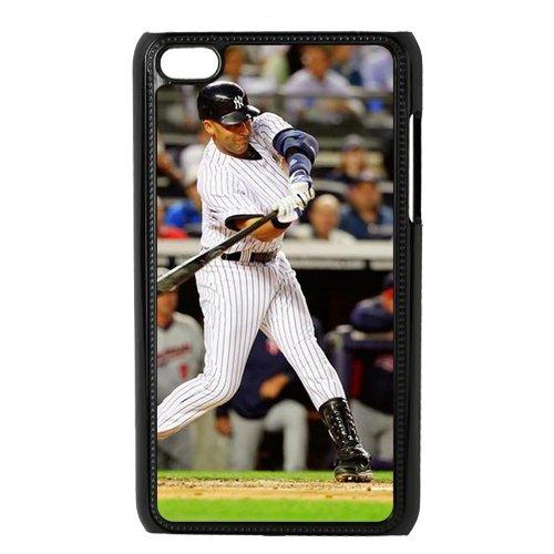 Diy Ipod Touch 4 Phone Case Derek Jeter Un012006 front-891465