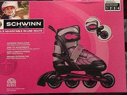 Schwinn Youth Adjustable Roller Blades Skate Riding Toys