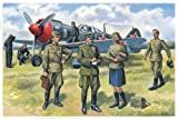 ICM 1:48 - Soviet Air Force Pilots & Ground Staff WWII - ICM48084
