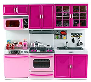 Amazon.com: My Happy Kitchen Dishwasher Oven Sink Battery Operated Toy